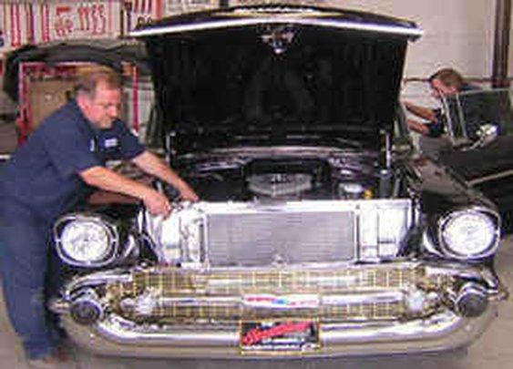 57 Chevy Auto Repair