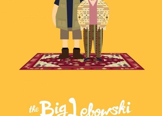 Buy 'The Big Lebowski' poster by Olaf Cuadras - The Bazaar