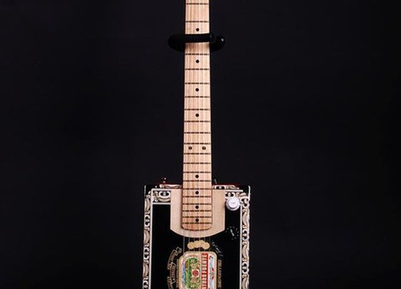 Cigar Box Guitar by Slackjack