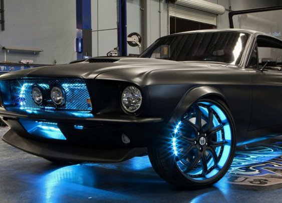 Microsoft Technology Mustang From West Coast Customs | Geekologie