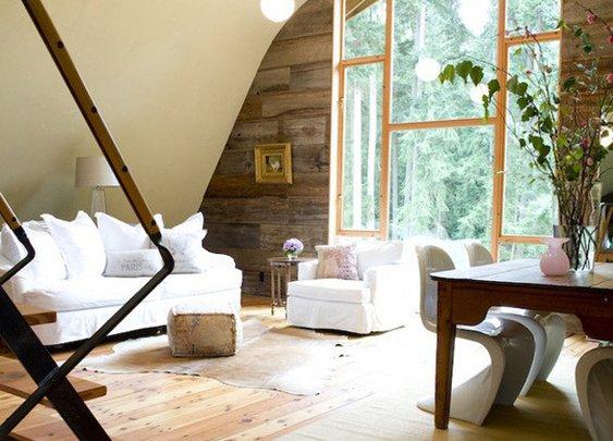 Rustic Modern Wood Paneling