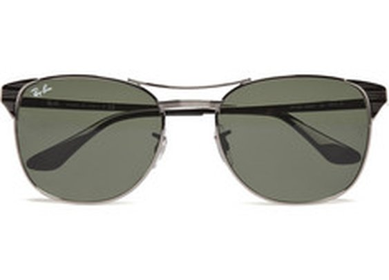 Ray-Ban Lightweight Metal Sunglasses | MR PORTER