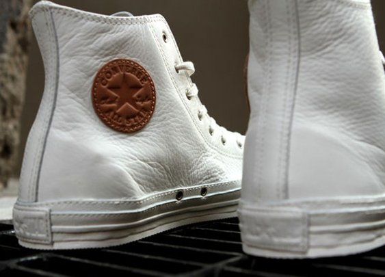 Converse Chuck Taylor Premium – Black & White Leather | The Authority In Sneaker News