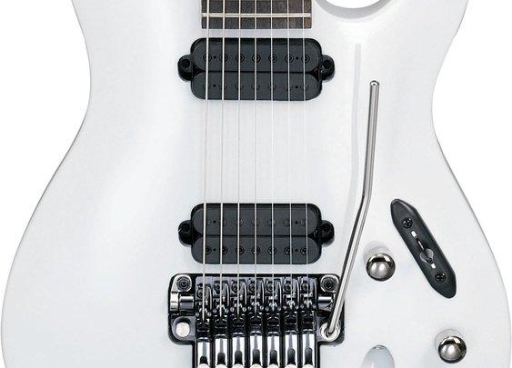 Ibanez S7320 - White Guitars:  Too 90's?