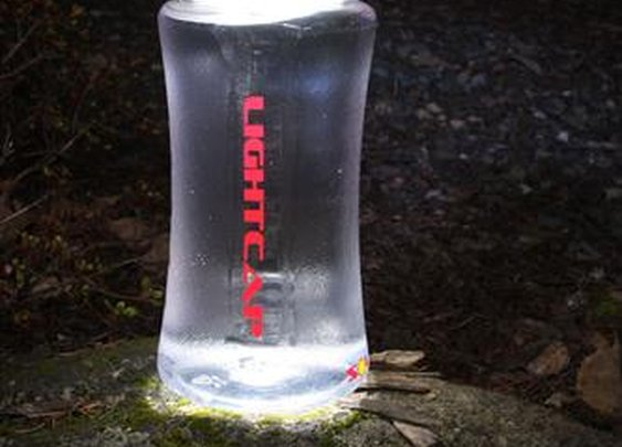 Simply Brilliant 5031 LightCap 300 Solar Powered Water Bottle