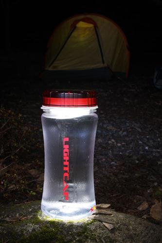 Simply Brilliant 5031 LightCap 300 Solar Powered Water Bottle