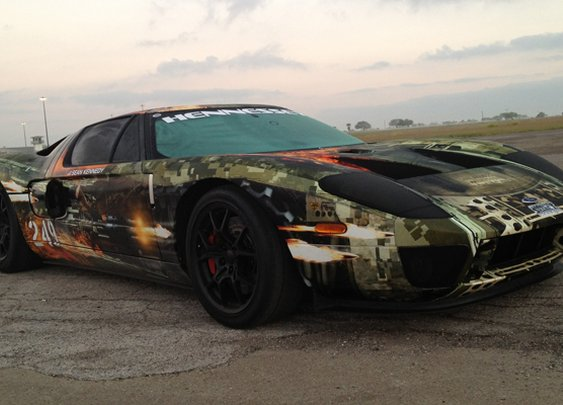 Hennessey-tuned 2000hp Ford GT - BBC Top Gear