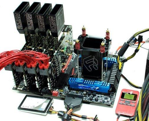 GTX680 QUAD SLI on EVGA GTX680 FTW and EVGA X79 CLASSIFIED