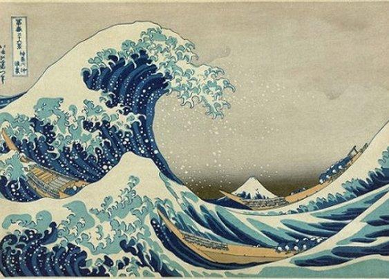 The Great Wave Off Kanagawa / The Rough Sea