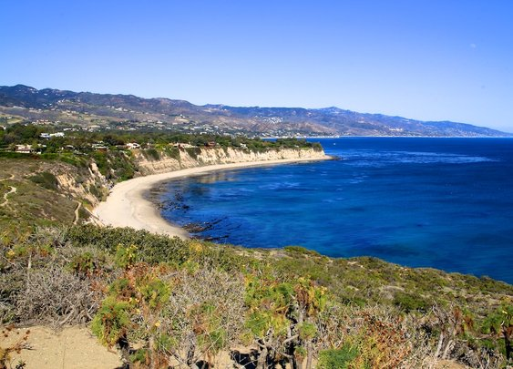 Hiking Point Dume in Malibu