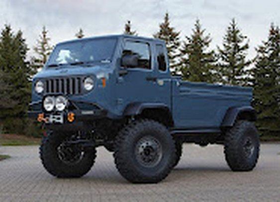 Jeep Reveals All Six East Safari Concept Models