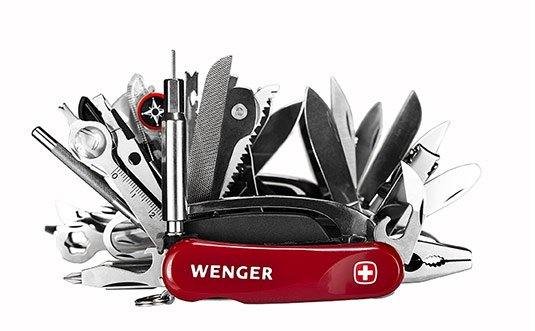 Giant Knife by Wenger