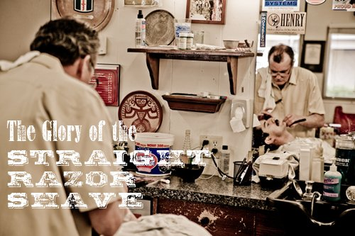 Photo Essay: The Straight Razor Shave | The Art of Manliness