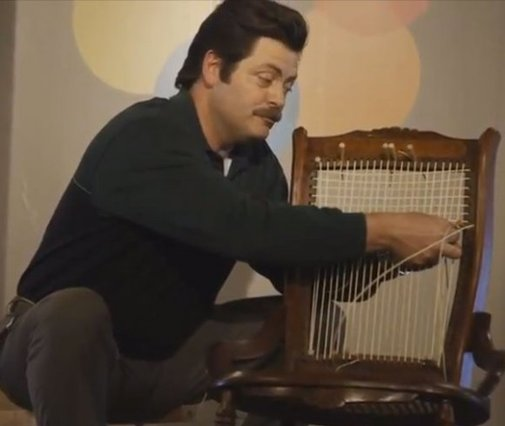 Tour the Woodshop of Ron Swanson