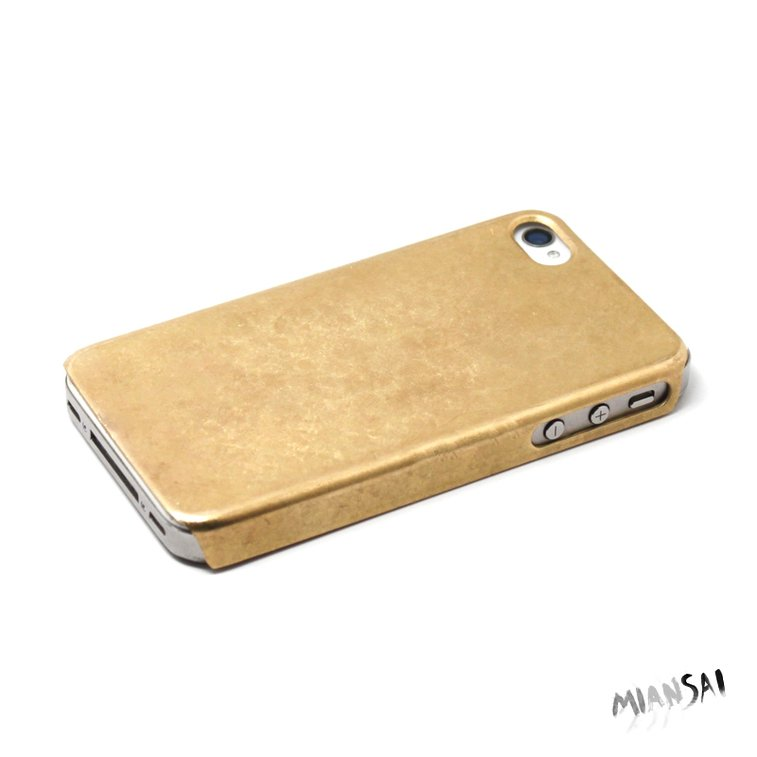 MIANSAI by Michael Saiger :: Gold iPhone :: Solid Gold iPhone Case
