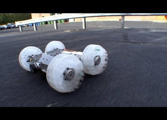 Sand Flea Jumping Robot - YouTube