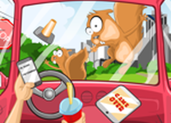 Distracted Driving is NUTS! Sign up for the game. Win an iPad 3!