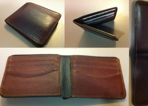 Saddleback Leather Wallet Chestnut