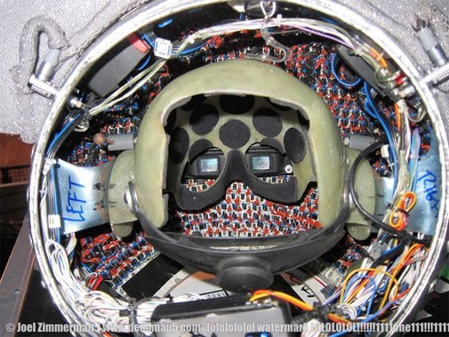 Ever wondered what the inside of Deadmau5′s helmet looks like? | AUX New Music