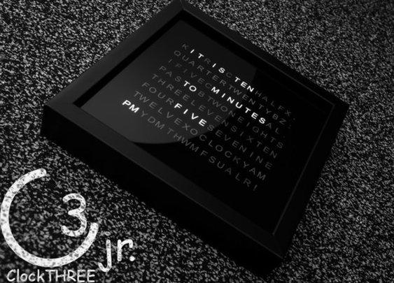 ClockTHREE Jr. by Justin Shaw — Kickstarter