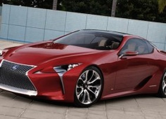 Avant-Garde Lexus Sports Car May Actually Go Into Production [Pics] @PSFK