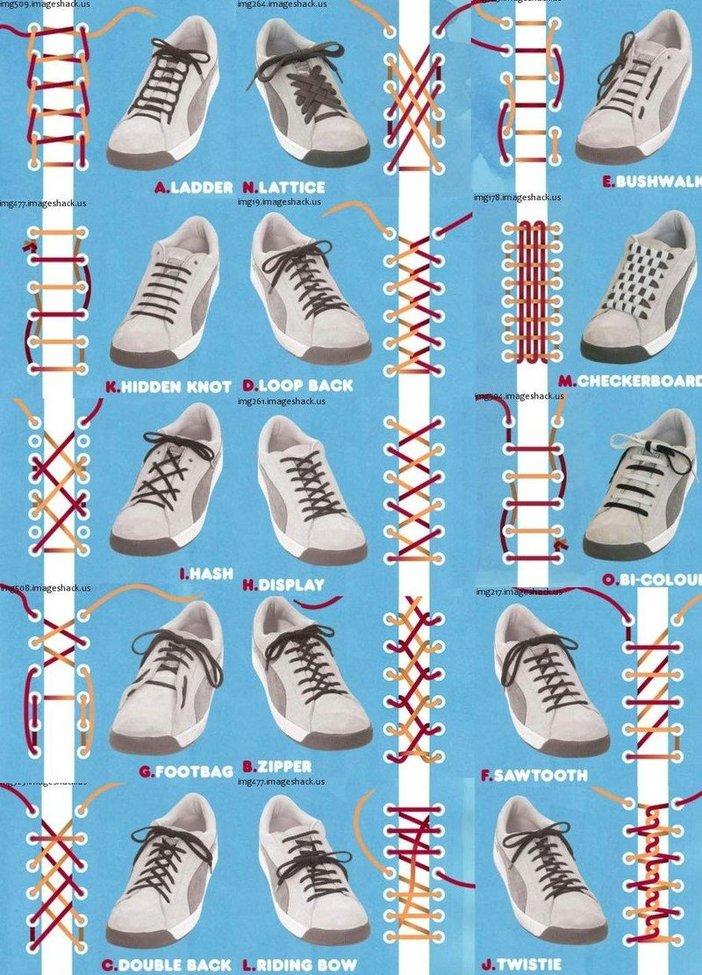 Shoe Tying Guide