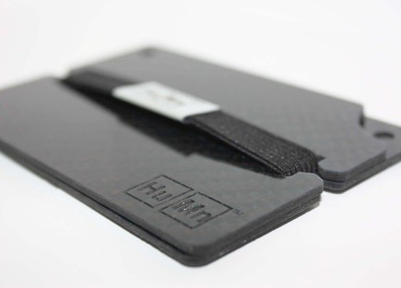 The HuMn Wallet - the best minimal RFID blocking wallet