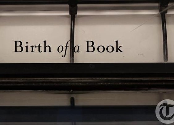 Birth of a Book on Vimeo