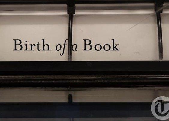 Birth of a Book on Vimeo