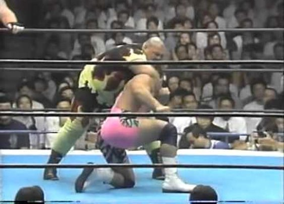 Bam Bam Bigelow & Vader vs. The Steiners Brothers - NJPW - 6-22-92      - YouTube