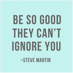 Be so good...