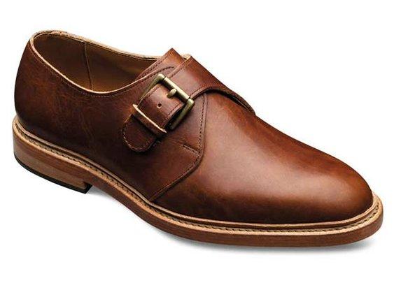 Lubbock - Monk Strap Slip-on Casual Mens Shoes by Allen Edmonds