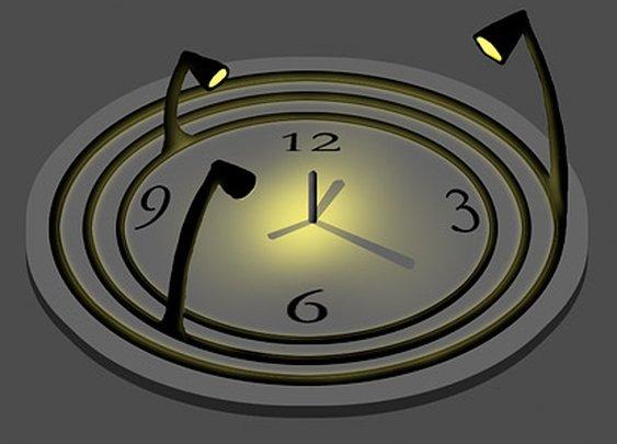 Ironic Sans: Idea: The Bulbdial Clock