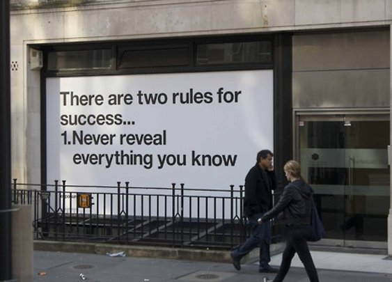 gthe: There are two rules for success.. 1. Never... | UNTITLEDmagazine