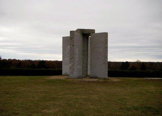 Georgia GuideStones | America's Stonehenge