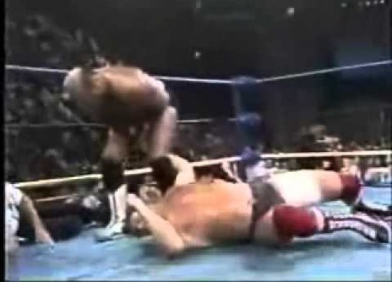 Steven Regal vs. Arn Anderson - WCW Superbrawl IV