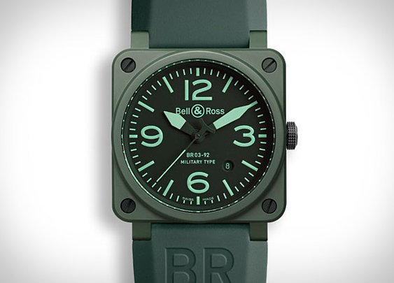 Bell & Ross Military Ceramic Watch   Uncrate