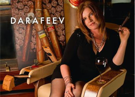 Darafeev introduces the Cigar Chair – The Cigar Smoking Man