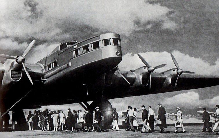 "the tupolev ant-20 ""maxim gorky"". soviet. 1934"