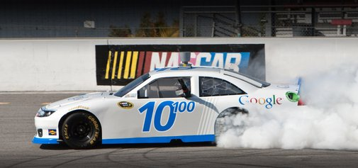 Google: Bringing self-driving cars to NASCAR