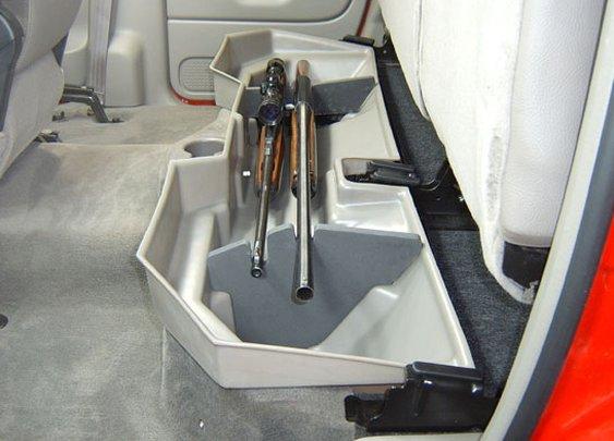Under Seat Gun Storage