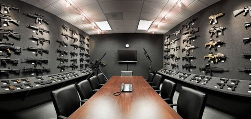 The Heckler & Koch Gray Room