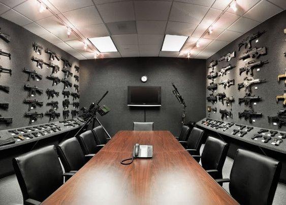 The Heckler & Koch Gray Room