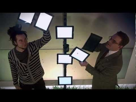 this promo for doing biz in stockholm using ipads is genius