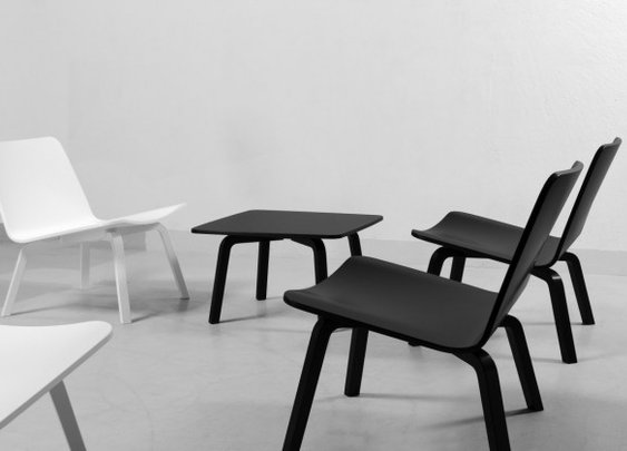 Lento Lounge Chair and Side Table by Harri Koskinen for Artek »  CONTEMPORIST