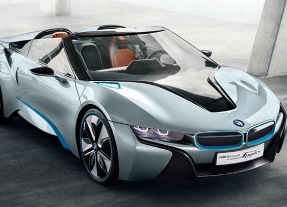 BMW Unveils New Sporty Hybrid Concept: i8 Spyder