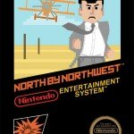 Alfred Hitchcock Movies as Nintendo Games