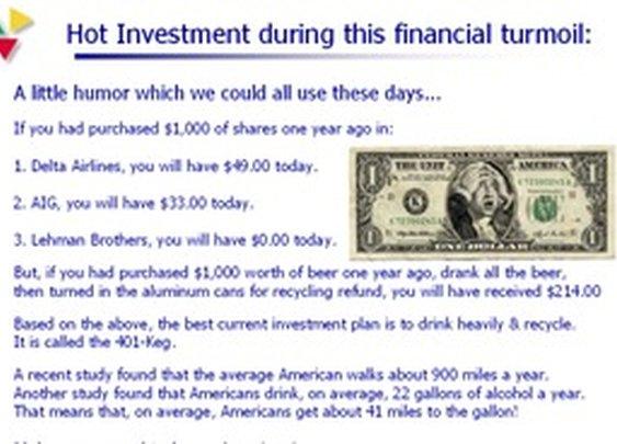 financial advice.