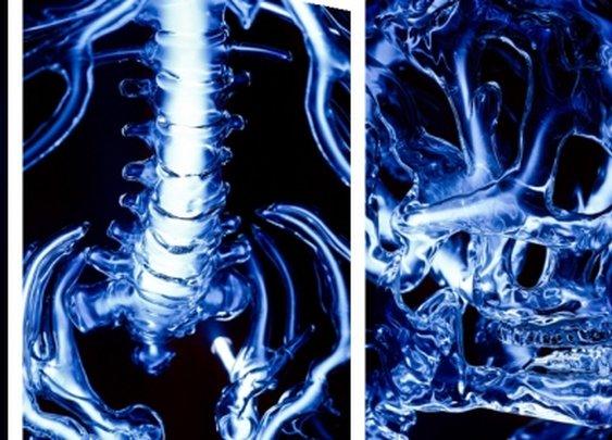 Bones of Blue Plasma