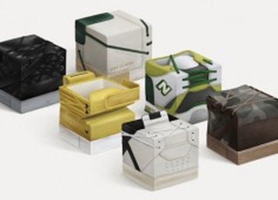 » Designer Compacts Sneakers Into Building Blocks [Pics] @PSFK